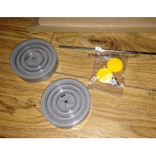 Dyson DC01 DC04 Grey Yellow Wheel Kit