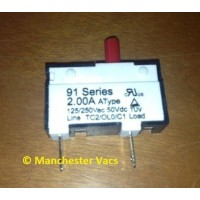 DC25 Reset Switch for USA Models 2.00A
