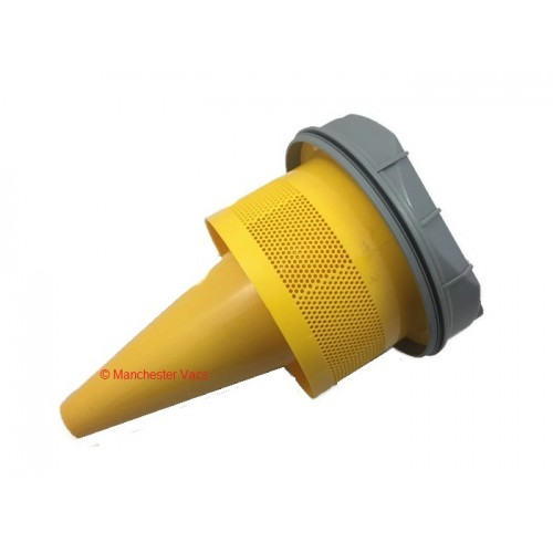 Dyson Dc02 Cyclone Assembly Cone Shroud Grey And Yellow